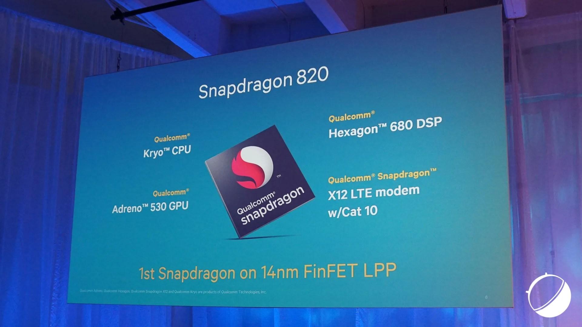 [MAJ] Snapdragon 820 : les tout derniers détails exposés par Qualcomm