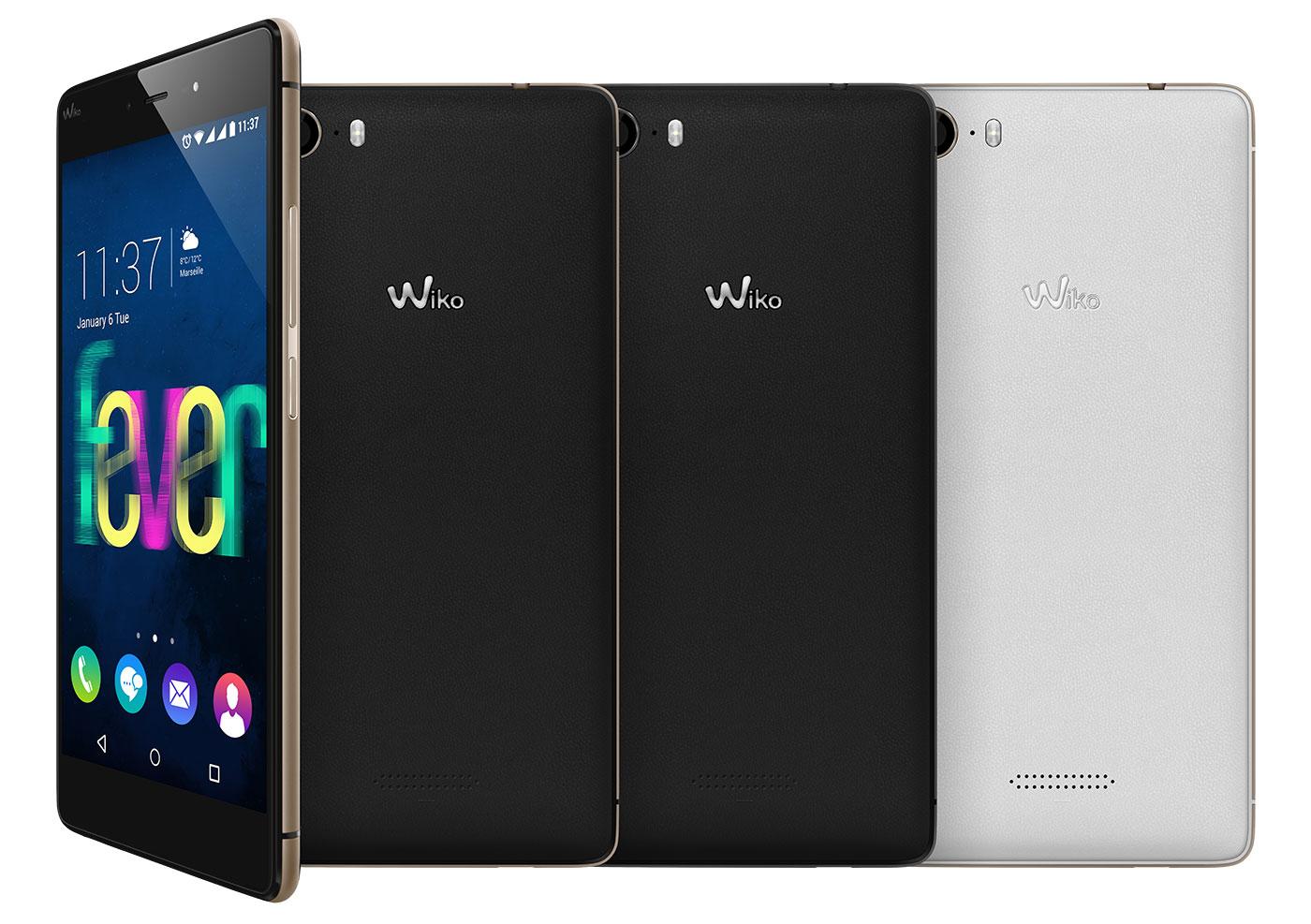 Wiko Fever : le smartphone phosphorescent arrive chez les revendeurs