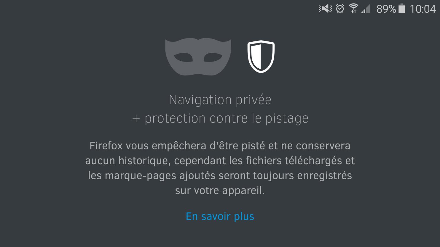 Firefox pour Android se met à jour et ajoute une protection contre le pistage