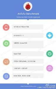 Pas de Snapdragon chez le Samsung Galaxy A7, mais une puce Exynos ?