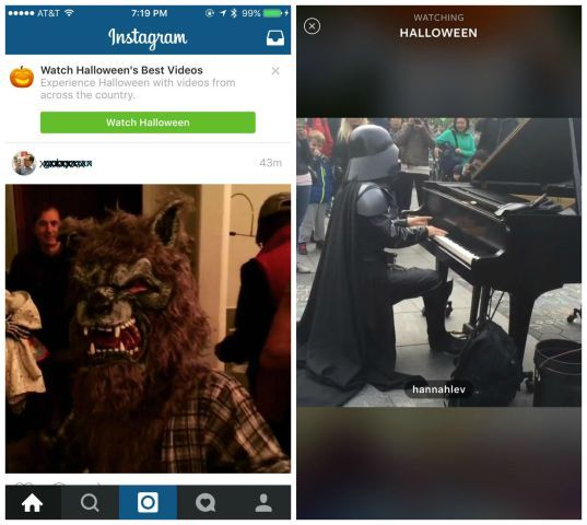 Instagram lance sa version maison des «Snapchat Stories»
