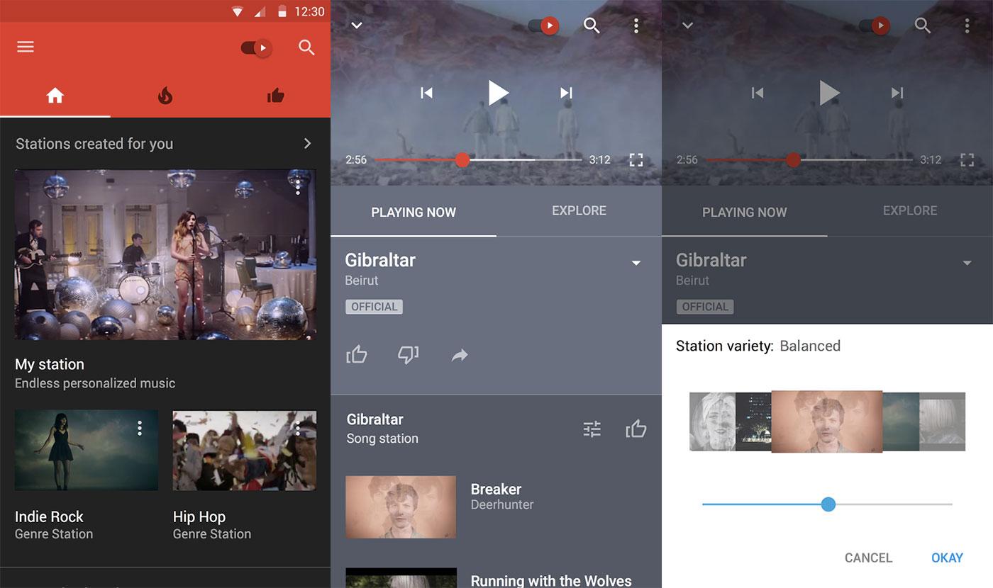 YouTube Music joue ses premières notes sur le Play Store