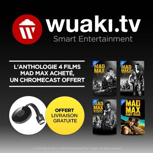 Bon plan : le Chromecast 2 avec 4 films Mad Max est à 32,99 euros