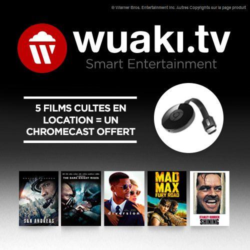 Bon plan : offrez-vous un Chromecast en promo à 27 euros avec 5 films offerts
