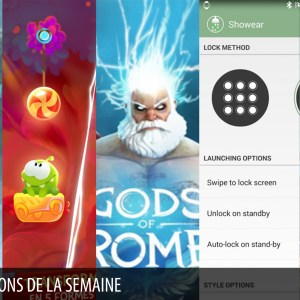 Les apps de la semaine : Gods of Rome, Shadowgate, Showear…