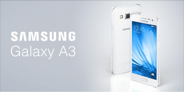 Bon plan : achetez le Galaxy A3 pour 189 euros, dont 30 euros d'ODR