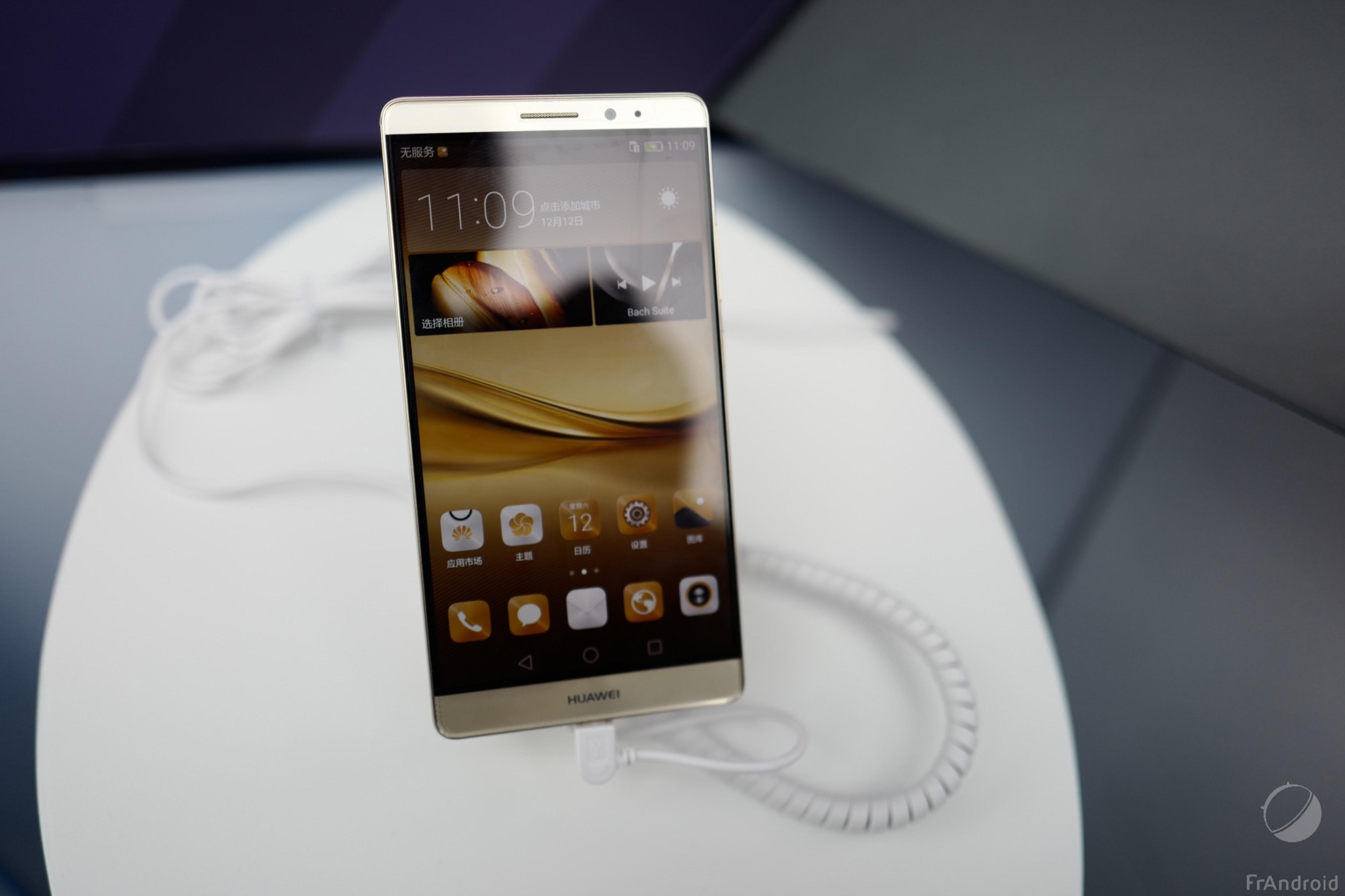 Le Huawei Mate 8 est en précommande en France à 599 euros