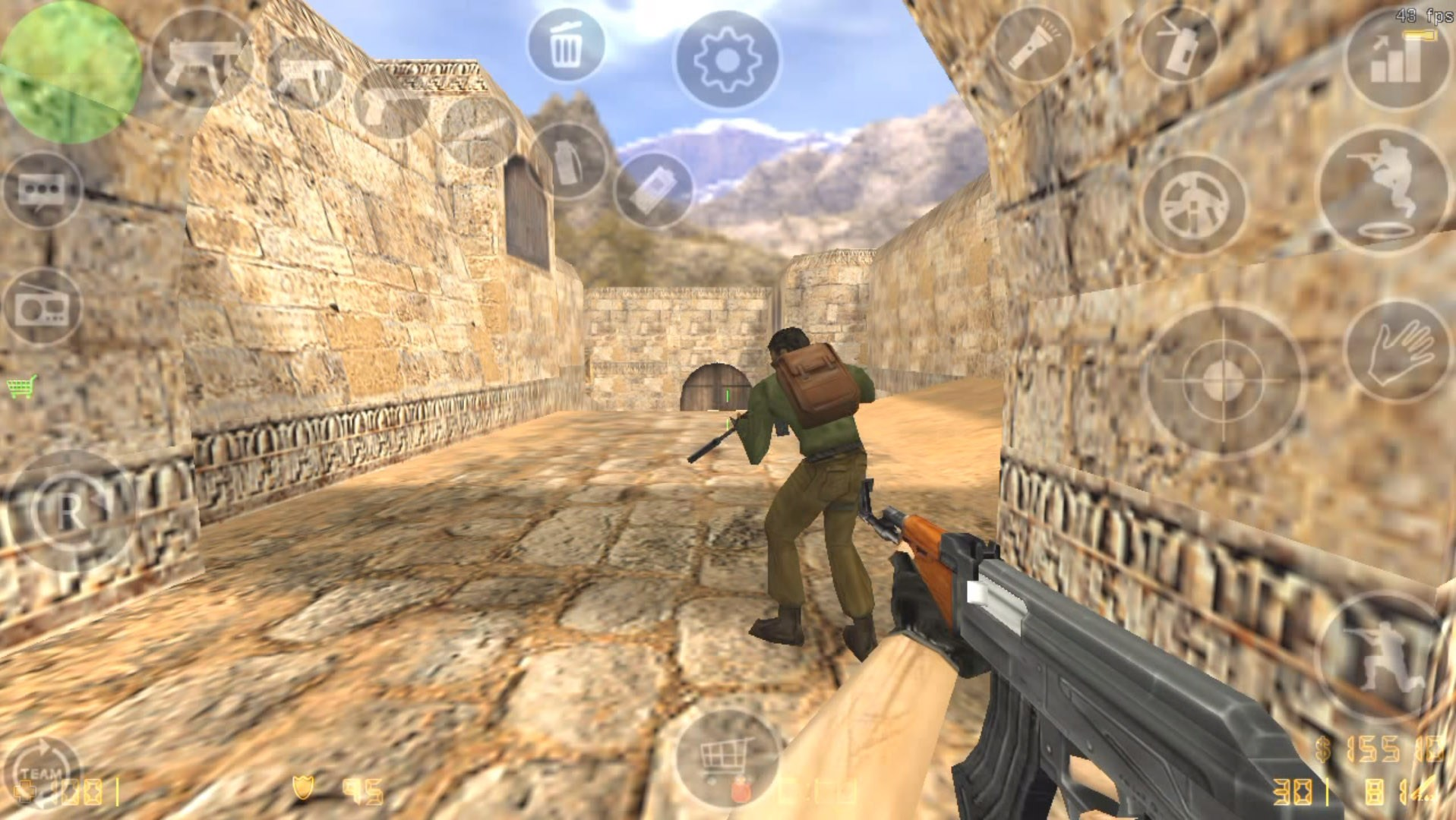 Counter Strike 1.6 : une vidéo explosive de la version Android