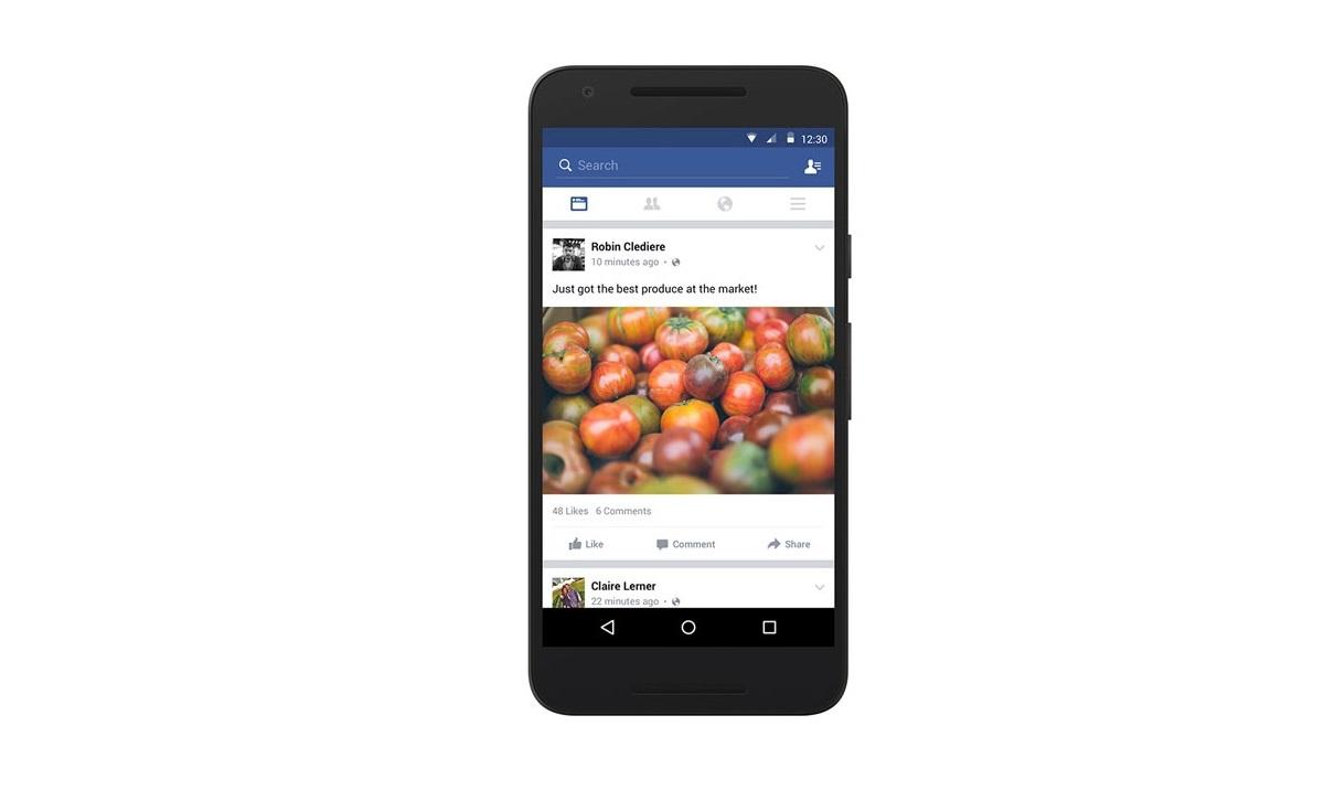Facebook au travail sur un mode hors-ligne