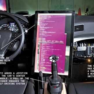 geohot : le hacker compte révolutionner la voiture autonome