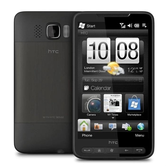 HTC HD2 se moque bien du temps qui passe