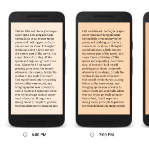 Night Light : Google encourage la lecture nocturne avec Play Livres (US)