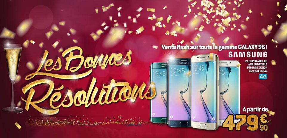 Bon plan : la gamme Samsung Galaxy S6 est en promo à partir de 479,90 euros
