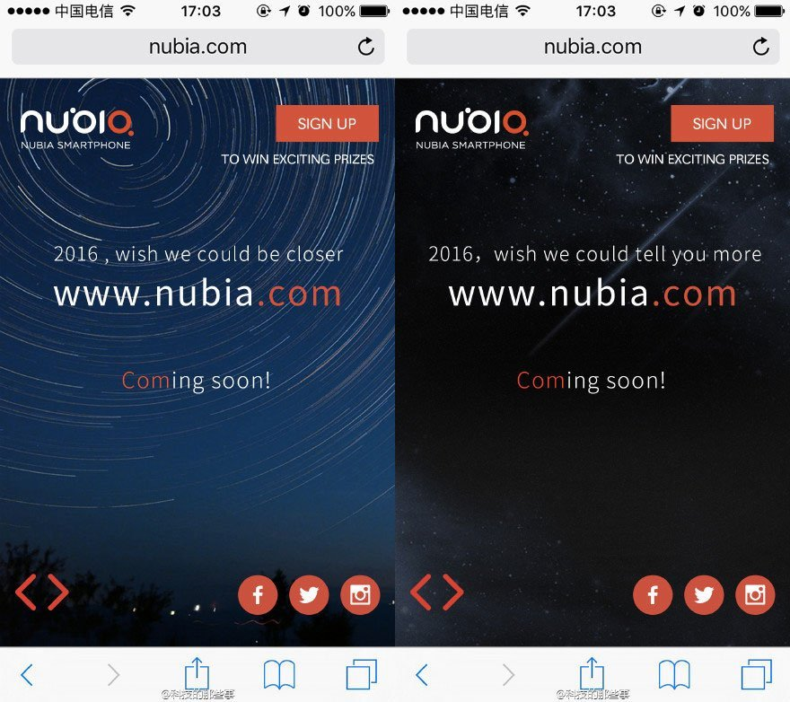 ZTE Nubia ne regarde pas à la dépense pour se faire connaître