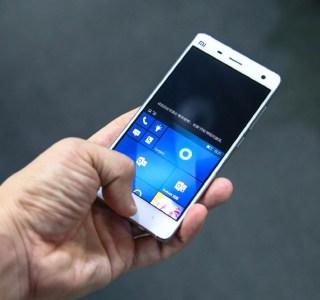 Xiaomi Mi 4 : la ROM Windows10 est disponible au téléchargement