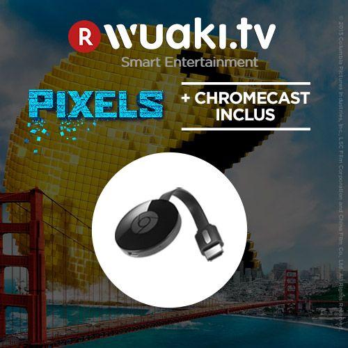 Bon plan : le Chromecast 2 est proposé avec le film Pixels à 26,99 euros