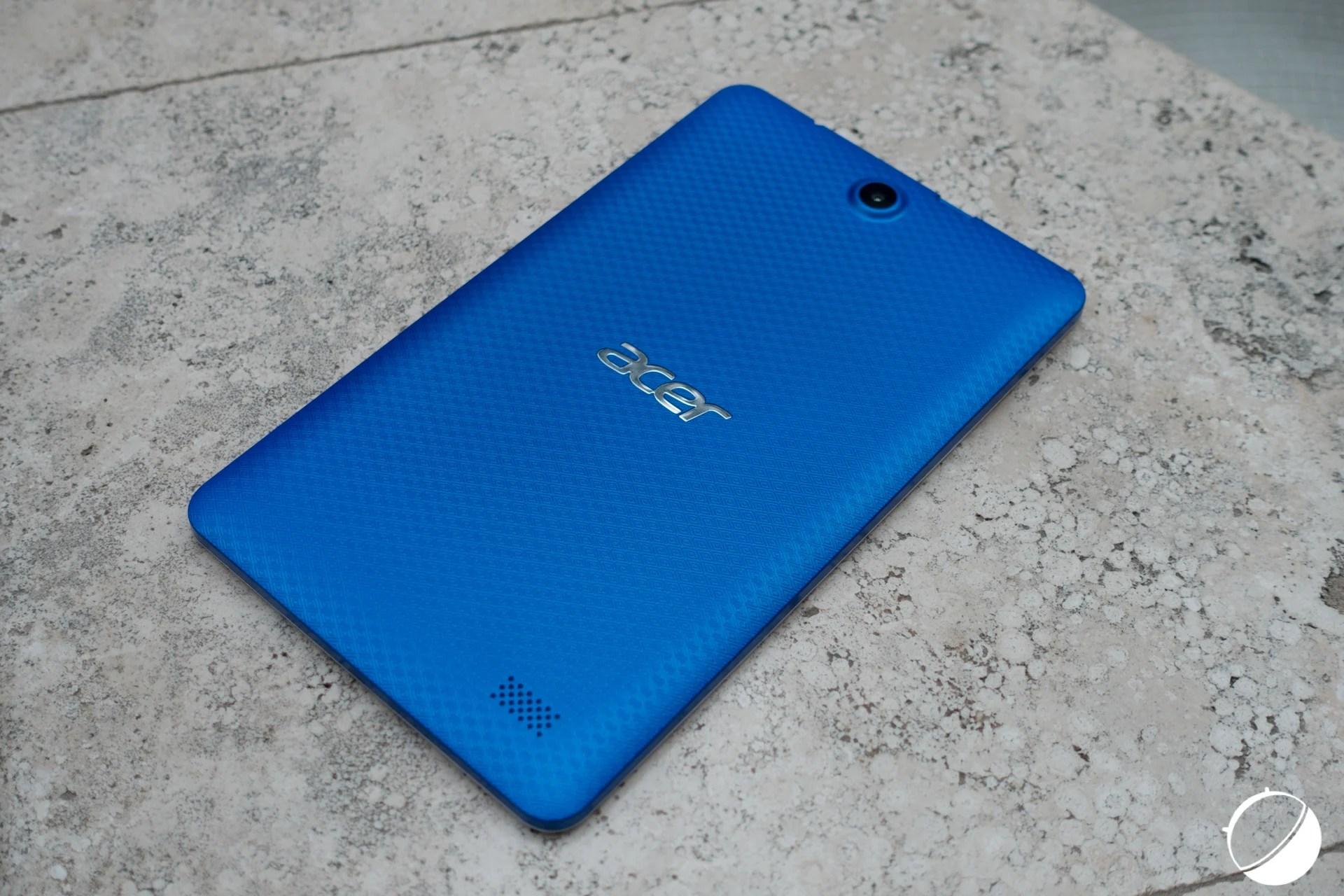 Vidéo : Prise en main de la tablette Acer Iconia One 8