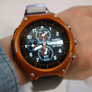 La première montre de Casio sous Android Wear sera commercialisée le 25 mars