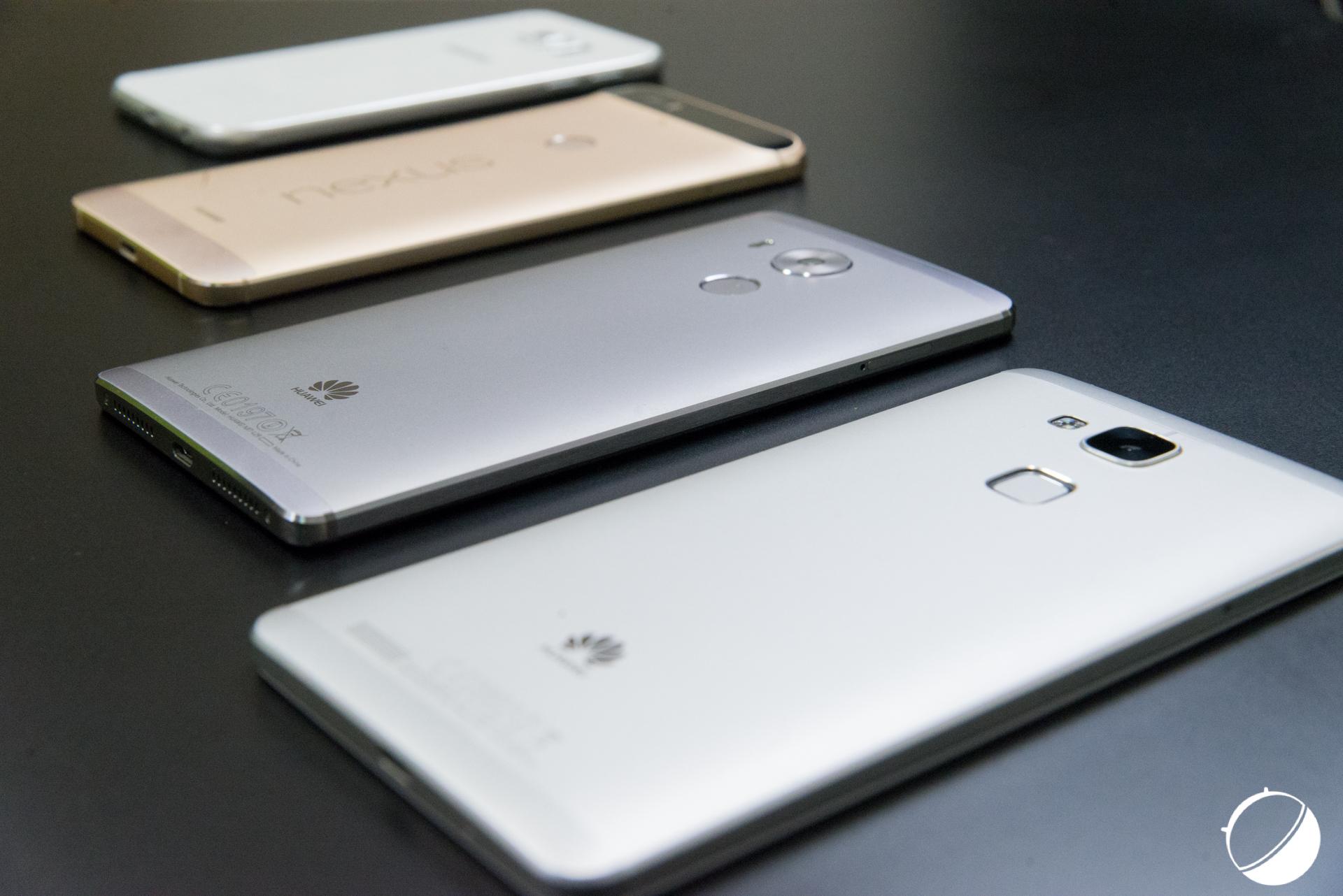 Huawei Kirin 950, Qualcomm Snapdragon 810, Samsung Exynos 7420 : le choc des puces haut de gamme