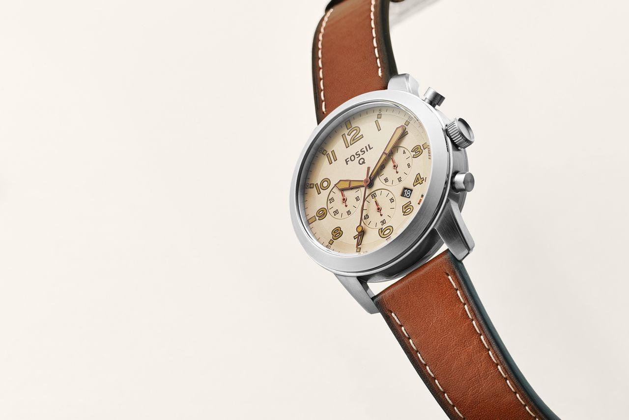 CES 2016 : Fossil Q54 Pilot, une nouvelle montre connectée sans Android Wear