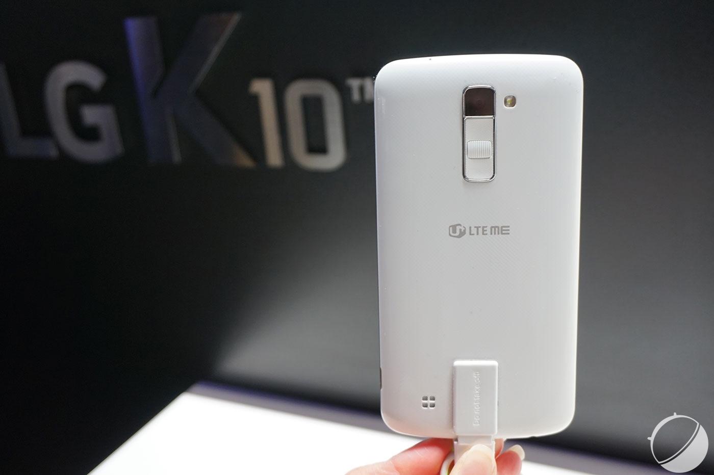 Prise en main des K7 et K10, le retour de LG sur le milieu de gamme