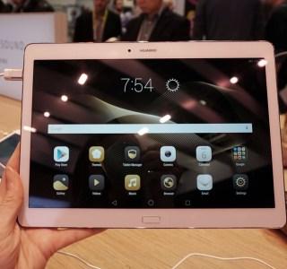 CES 2016 : Prise en main de la tablette Huawei MediaPad M2 10