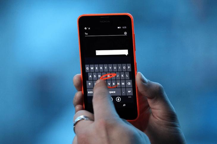 Microsoft Word Flow : le clavier de Windows Phone bientôt sur d'autres plateformes