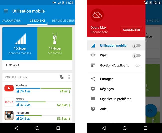 Opera Max s'attaque à la consommation de data par YouTube et Netflix