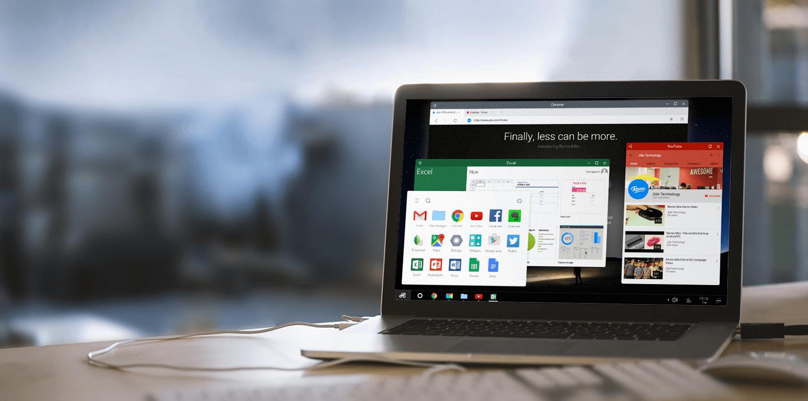 Remix OS 2.0 : nos premières impressions sur «l'Android pour PC»
