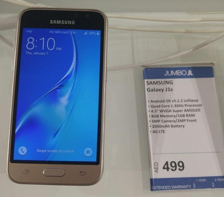 Lancé en toute discrétion, le Samsung Galaxy J1 2016 est déjà en vente