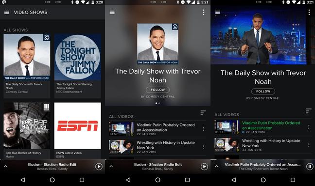 Spotify Now : la vidéo débarque aujourd'hui sur Android