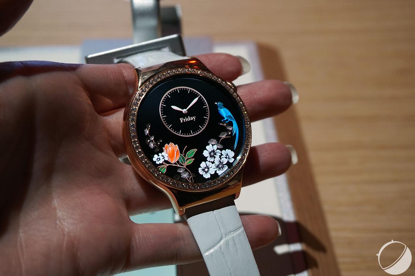CES 2016 : Huawei Watch Elegant et Jewel, des montres connectées «pour femmes»