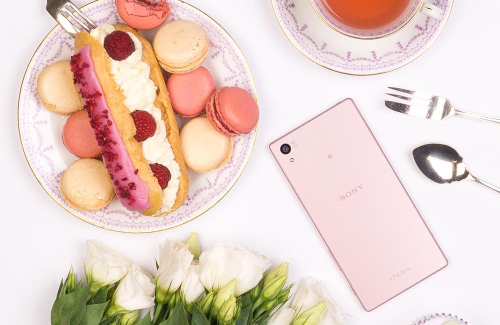 Le Sony Xperia Z5 rose est désormais une réalité
