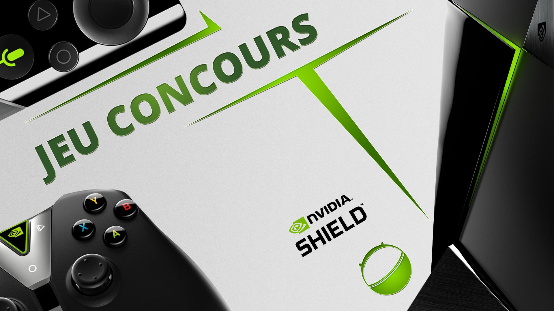 Jeu-concours : tentez de remporter une NVIDIA Shield Android TV 500 Go avec sa télécommande