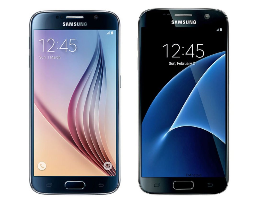 Samsung Galaxy S7 vs Galaxy S6, ce qui change d'une version à l'autre