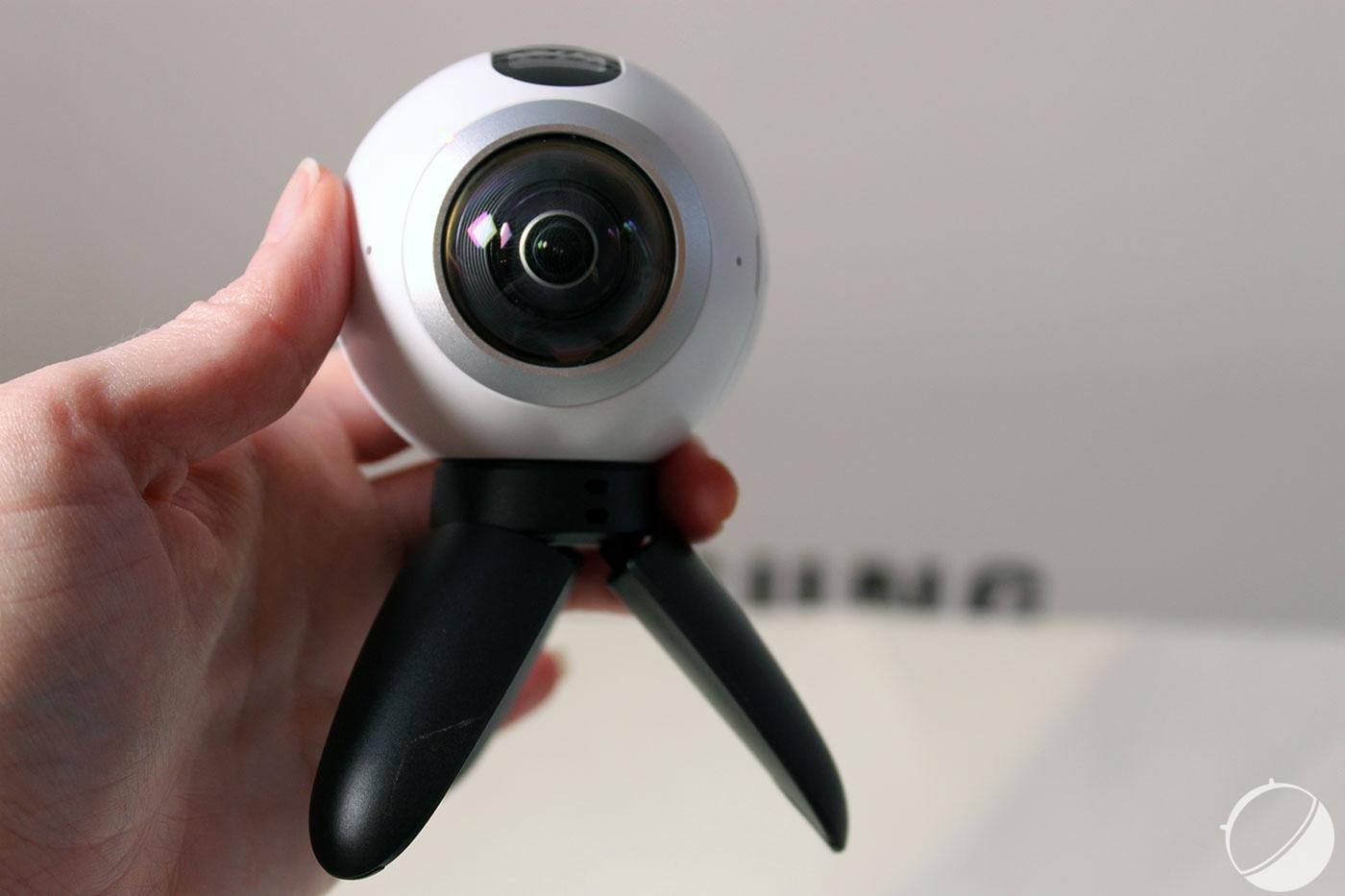 Samsung Gear 360, la caméra dédiée à la réalité virtuelle