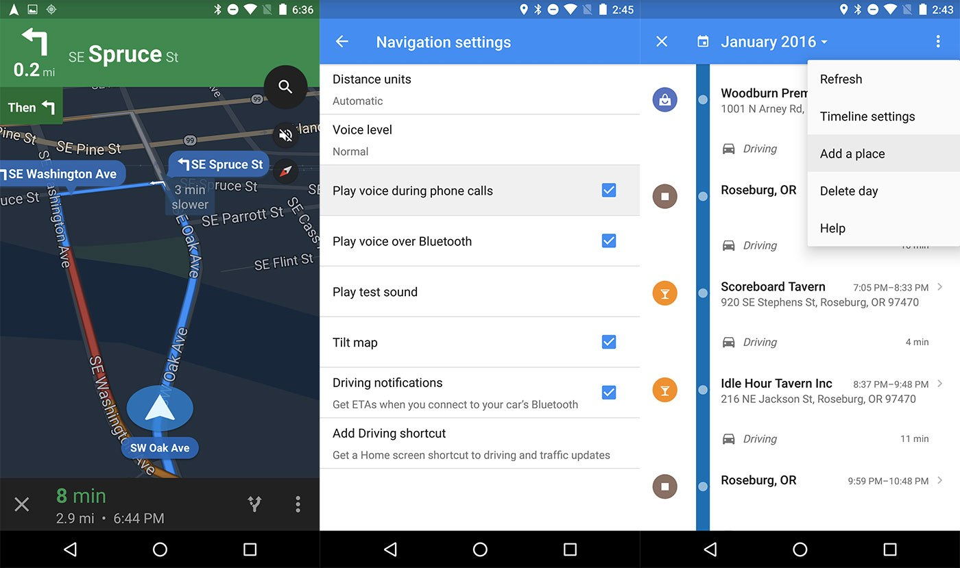 Google Maps v9.20, une version tournée vers l'ergonomie