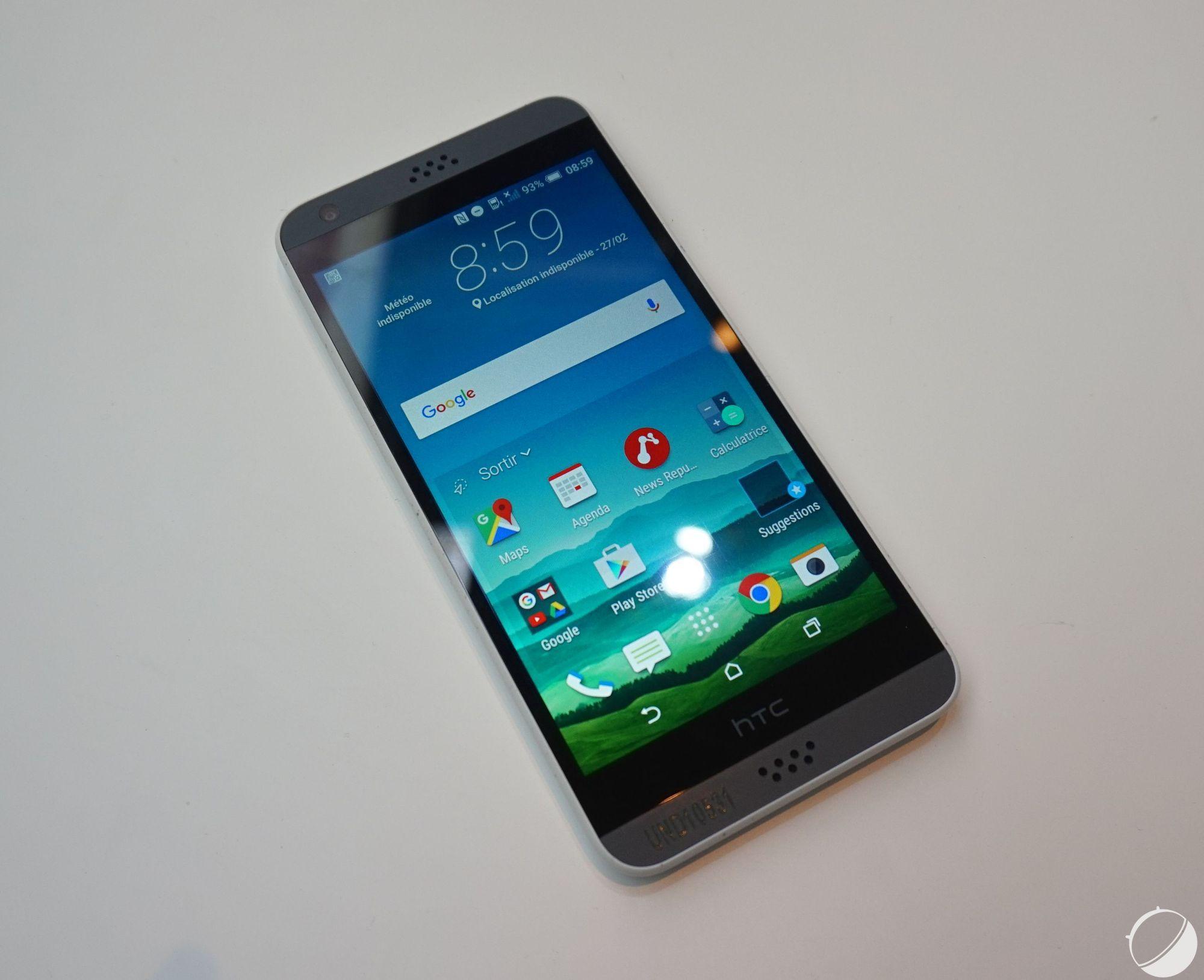 Prise en main du HTC Desire 530, de l'entrée de gamme sans surprise