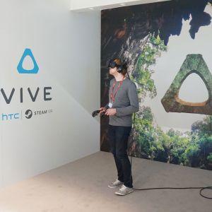 HTC Vive va proposer une expérience de réalité virtuelle avec le prochain film de Spielberg
