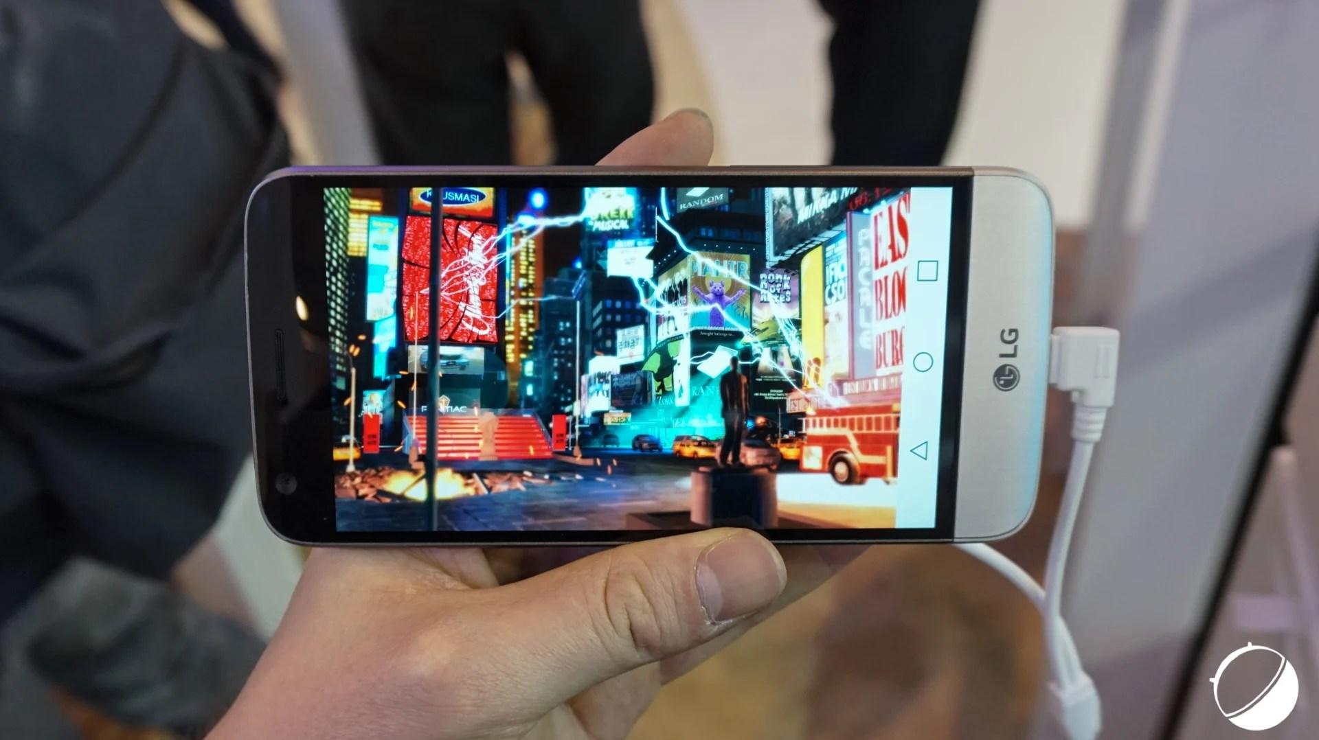 Performances : le LG G5 face aux Samsung Galaxy S7 et S7 edge