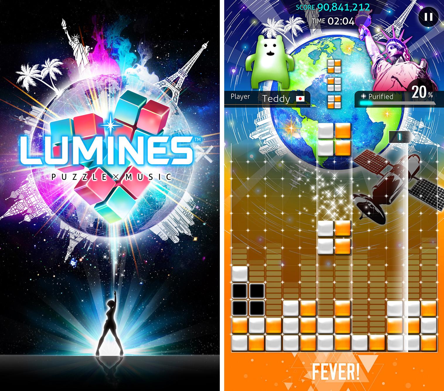 Lumines, le Tetris-like de la PSP de retour sur nos mobiles en 2016