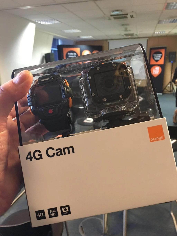 4G : Orange couvre 80 % de la population et annonce la 4G Cam, une «GoPro» connectée