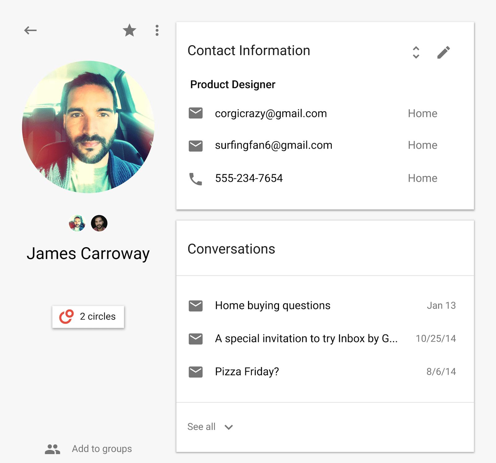 Avec People API, Google simplifie l'accès aux informations des contacts aux développeurs