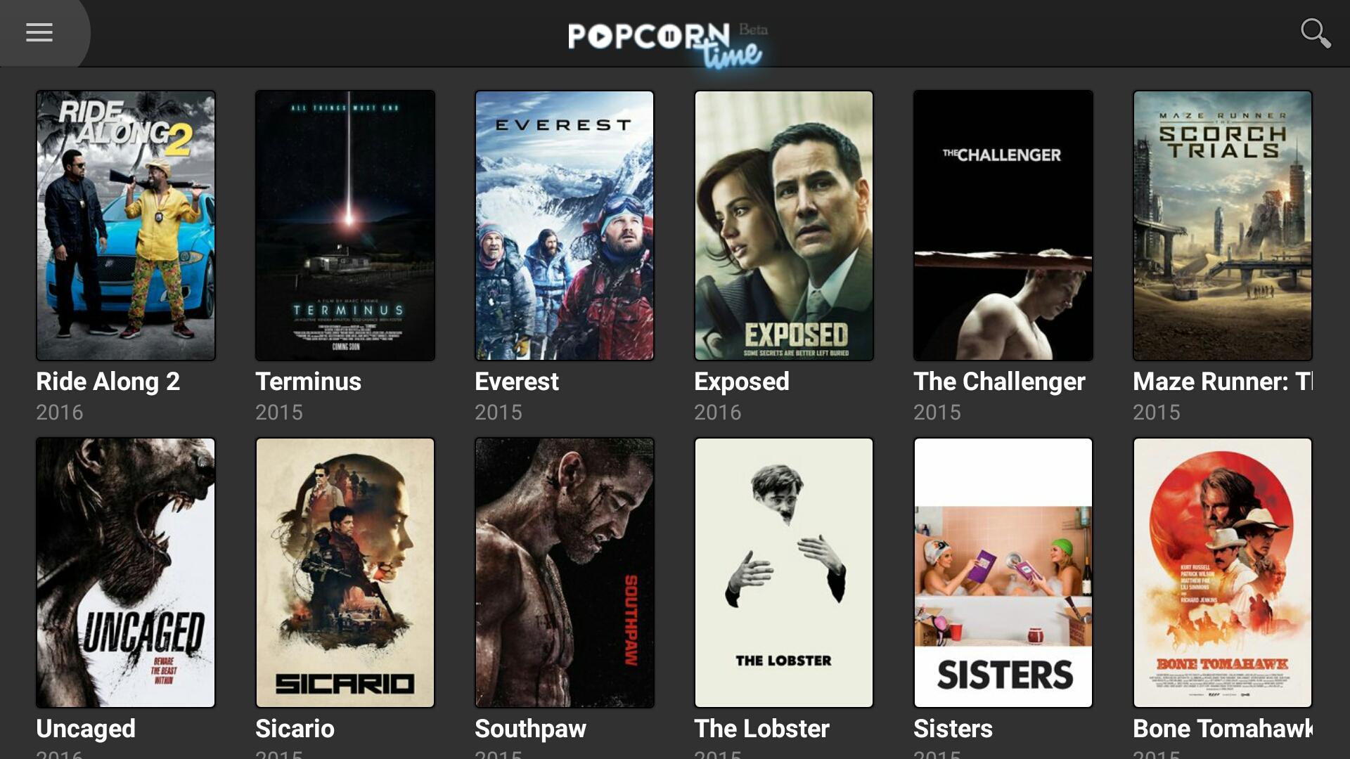 La prochaine application Popcorn Time sera bien plus pratique et performante