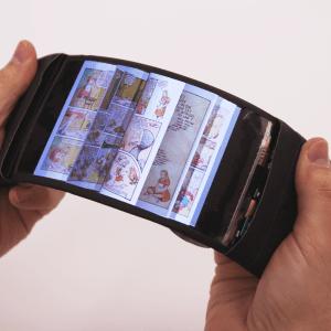 ReFlex : un prototype de smartphone flexible doté d'un retour haptique