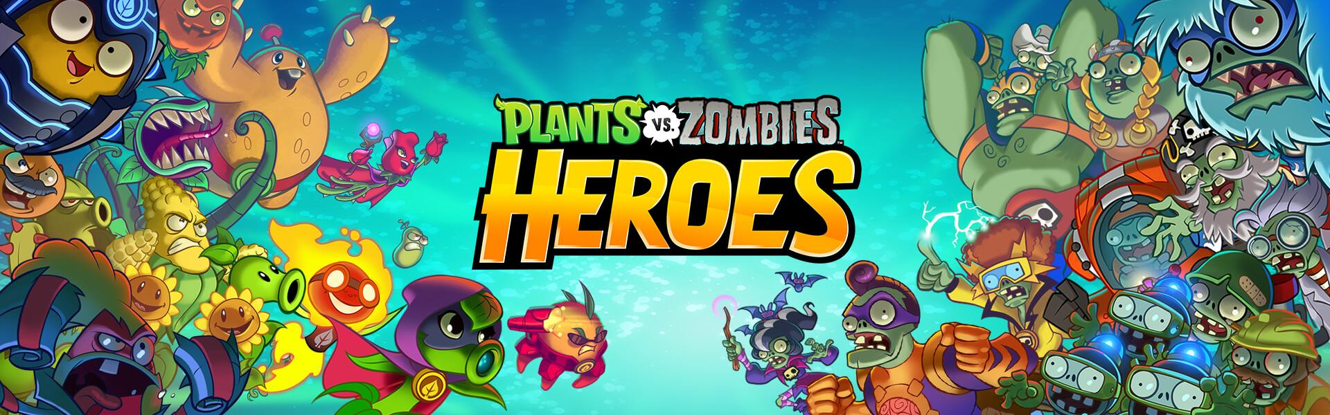 Plants vs. Zombies Heroes revient sur mobile avec une composante de jeu de cartes
