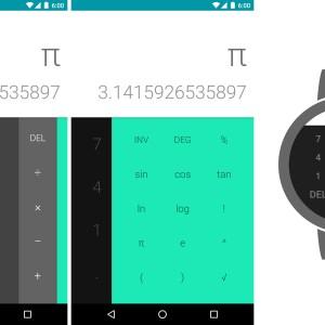 La calculatrice de Google s'invite sur le Play Store et Android Wear