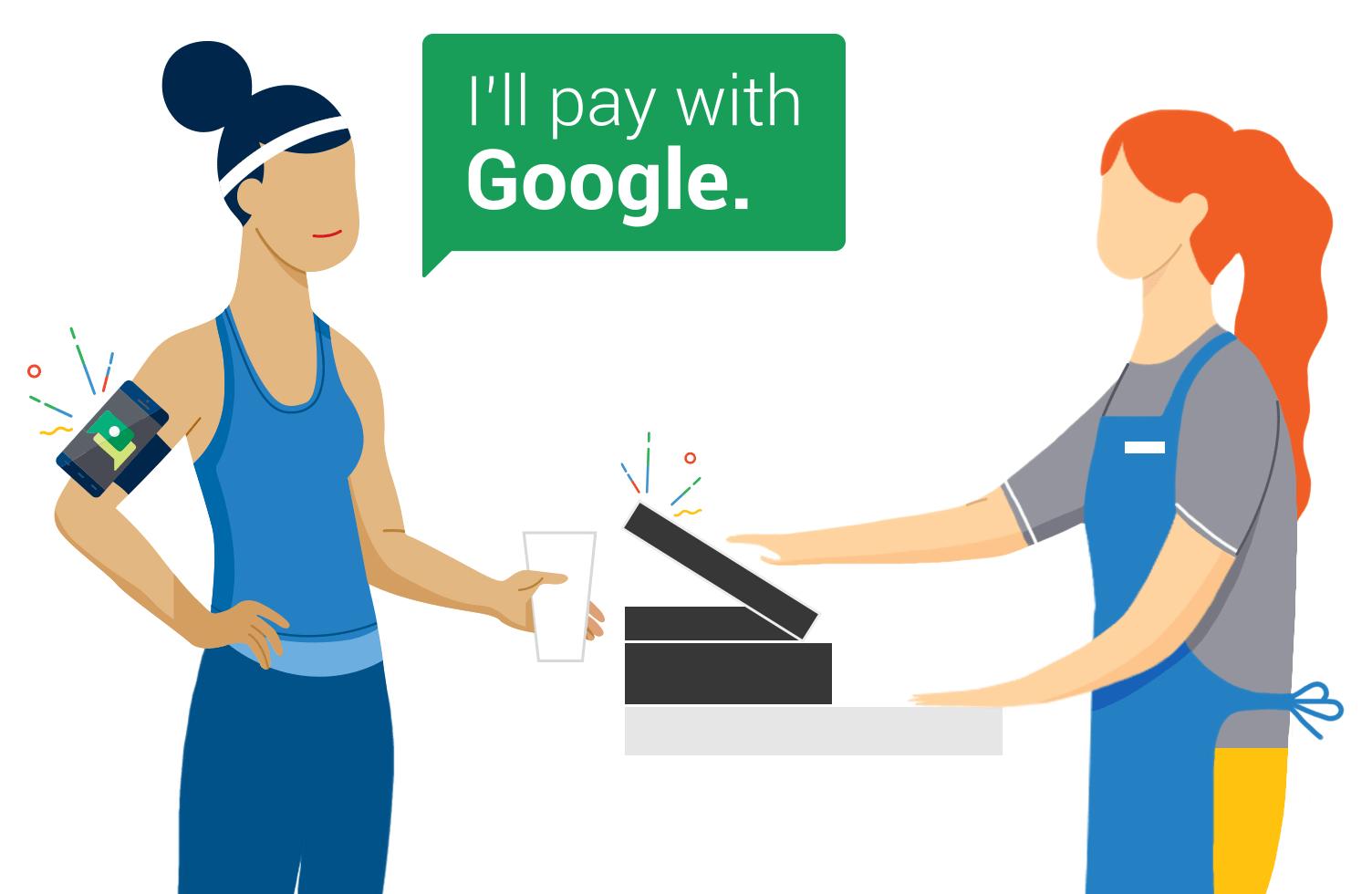 Google Hands Free, le paiement sans les mains testé à San Francisco