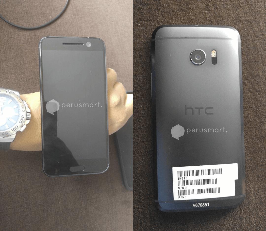 HTC 10 : encore de nouvelles photos du téléphone