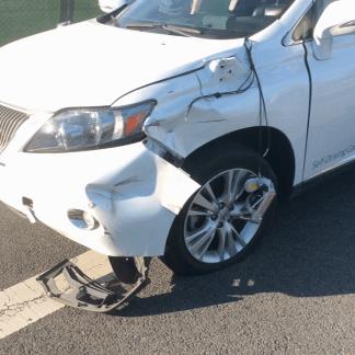 En vidéo, «l'accident» entre la Google Car et un bus